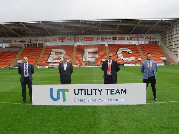 Blackpool FC Sponsor picture