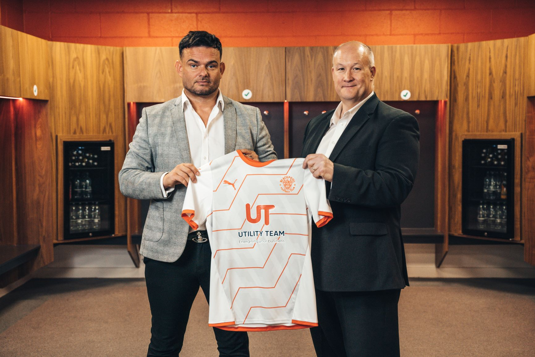 Utility Team are delighted to announce that we will continue as Blackpool FC away shirt sponsor for the 2021/22 Sky Bet Championship season.